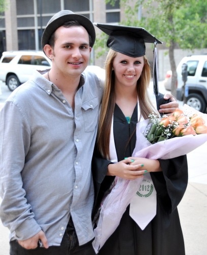 May - Another busy month where I took a trip to California, Clark Gardens, Mt. Scott. But as always, my daughter's milestone wins out. Sydney graduates high school. Photo of her and her boyfriend Brandon.