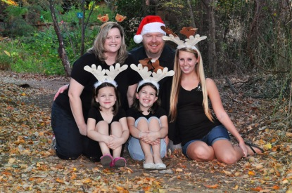Our Christmas 2012 Family photo.