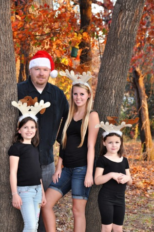 This is my favorite photo. My wonderful husband and precious girls!