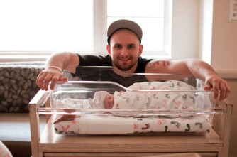 Proud Daddy!