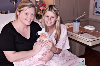 Me (Grammy), my daughter Sydney, and Miss Averey Elizabeth.