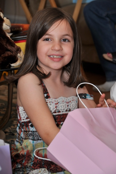 Molly - Easter 2012 - age 8.