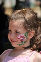 Molly at Scarborough Faire - April 2011 - age 7.