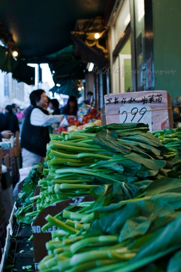 Fresh Market shopping in China Town on the move...