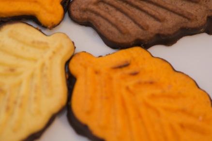 Fall cookies.