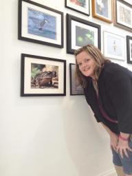 Me at Art7 with my toad.