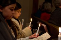 Candlelight service this year - 2014.