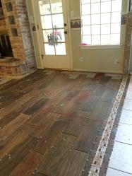 New floor.
